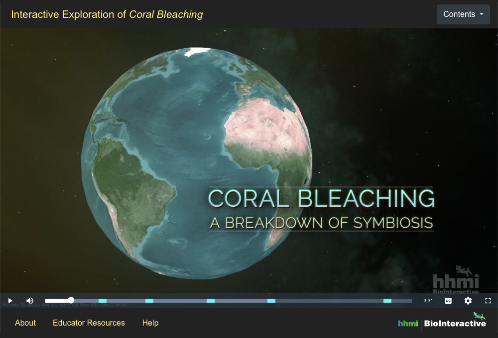 Coral Bleaching Screenshot 1
